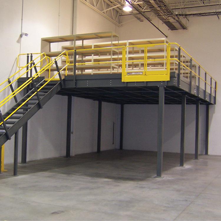 钢结构平台货架 钢结构平台货架厂家 吉林钢结构平台货架