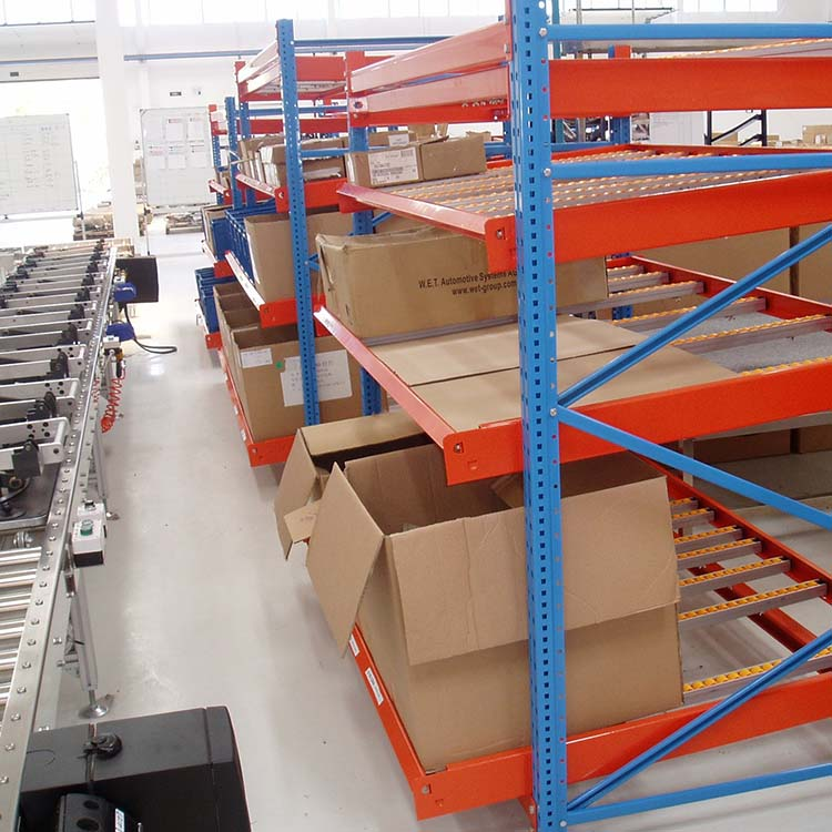 流利条货架厂家批发 吉林流利条货架 贯通式货架 阁楼式货架