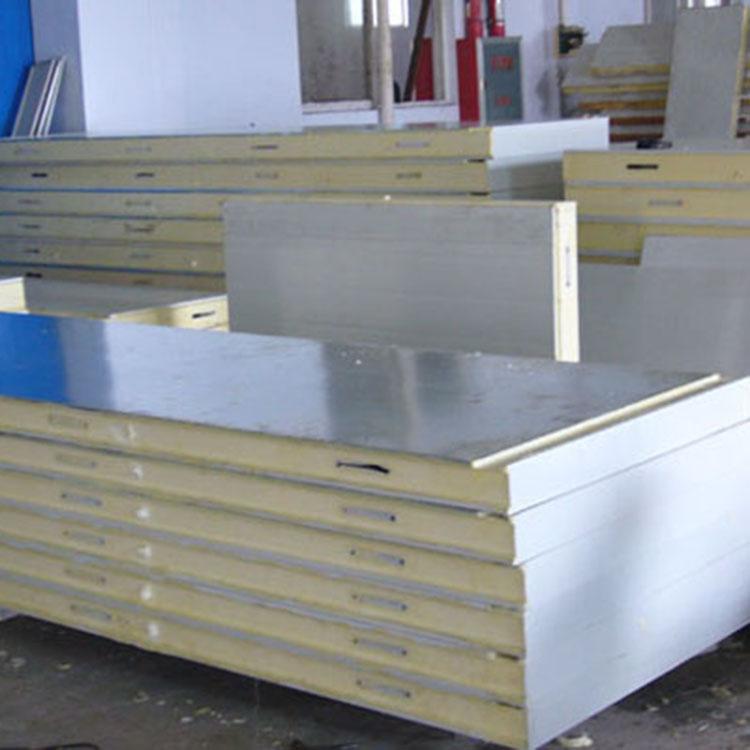 冷库板材 聚氨酯冷库板 彩钢冷库板材