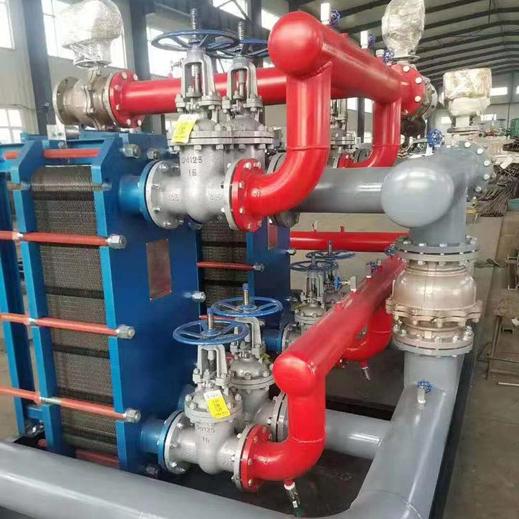 不锈钢换热机组 换热机组 智能缠绕管换热机组