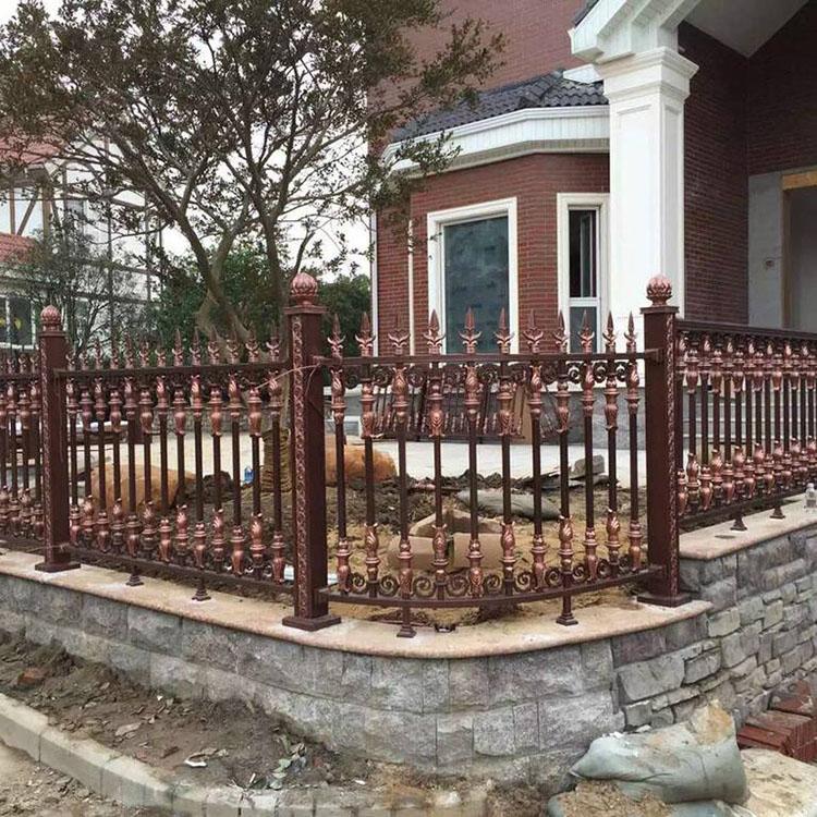 铝艺栅栏护栏铝艺护栏价格护栏价格 铝艺护栏定制批发别墅护栏