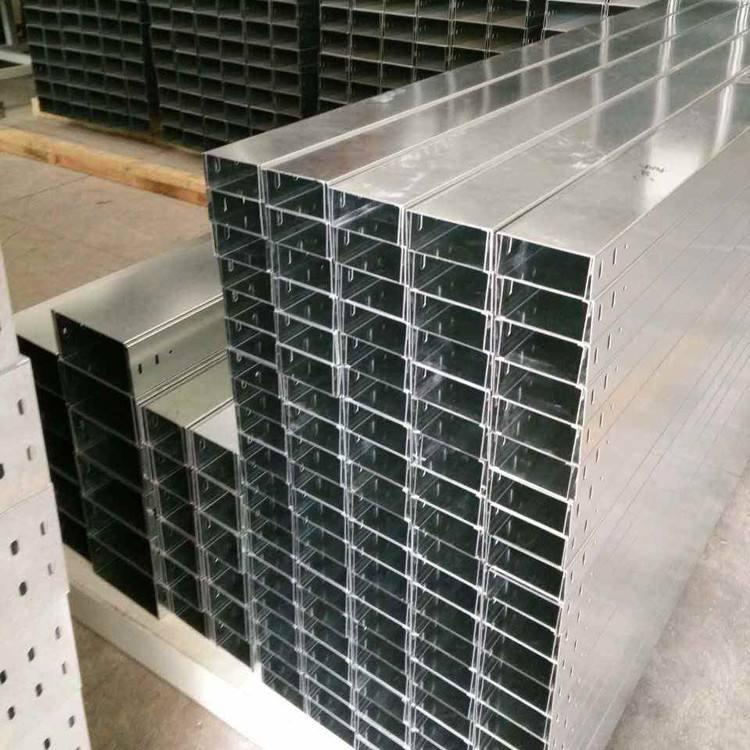 不锈钢槽式桥架槽式桥架厂家定制大跨距C型槽式桥架