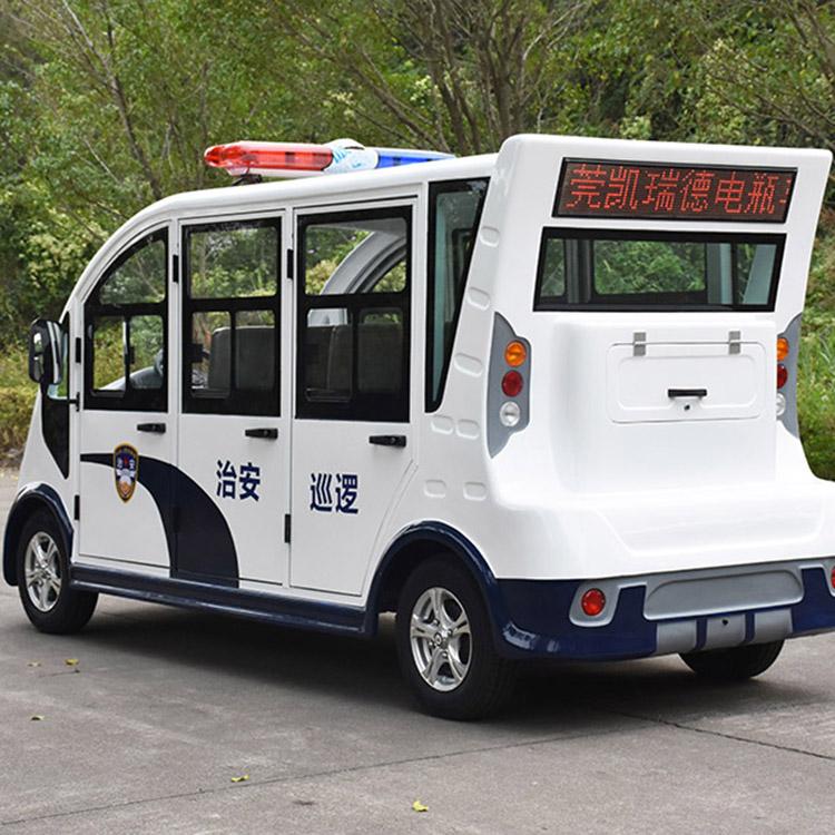 M100封闭式巡逻车 五菱电动巡逻车 电动巡逻车厂家