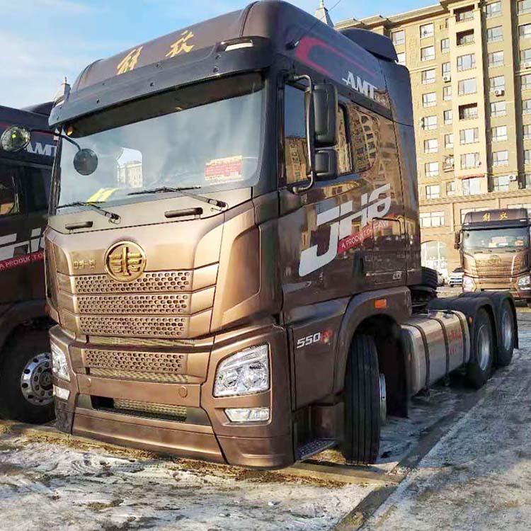 JH6550马力AMT自动挡牵引车解放自动挡卡车青岛解放