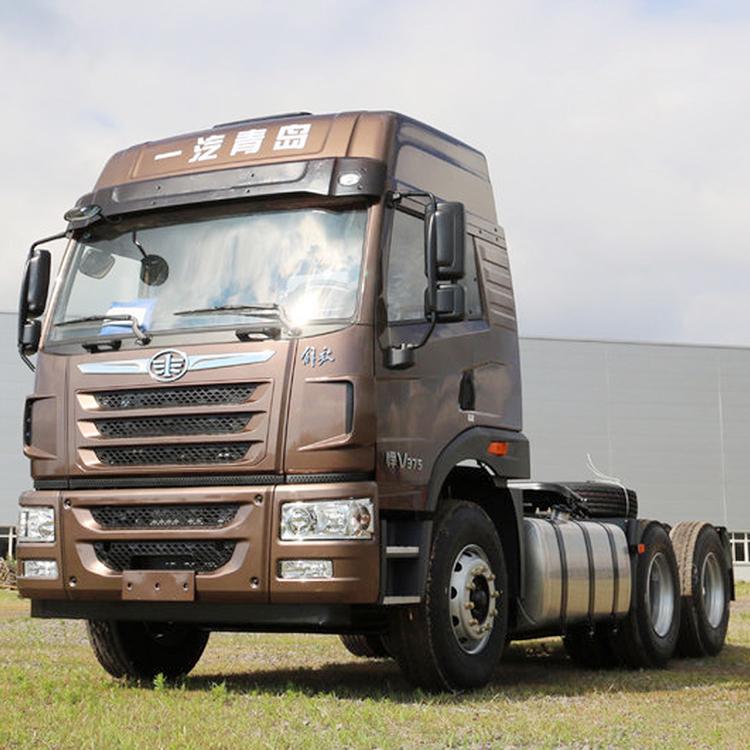 悍V375马力牵引解放卡车经销商一汽解放厂家青岛解放重卡