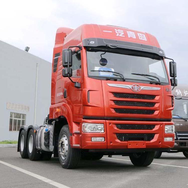 天V500马力牵引车解放卡车经销商一汽解放厂家