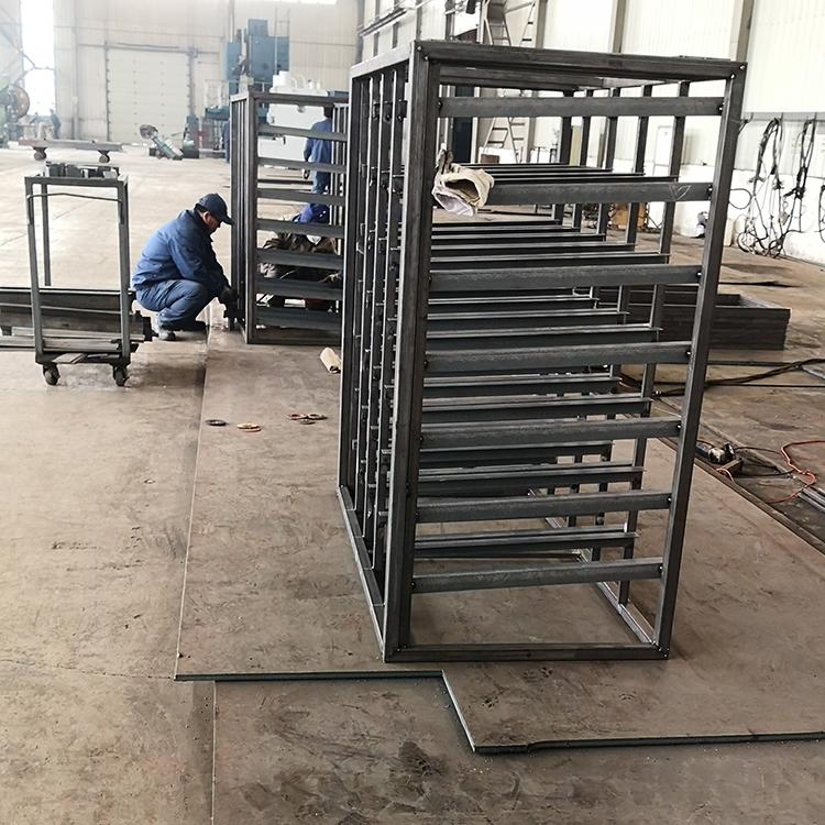 金属周转器具 工位台车价格 金属周转器具厂家周转筐价格