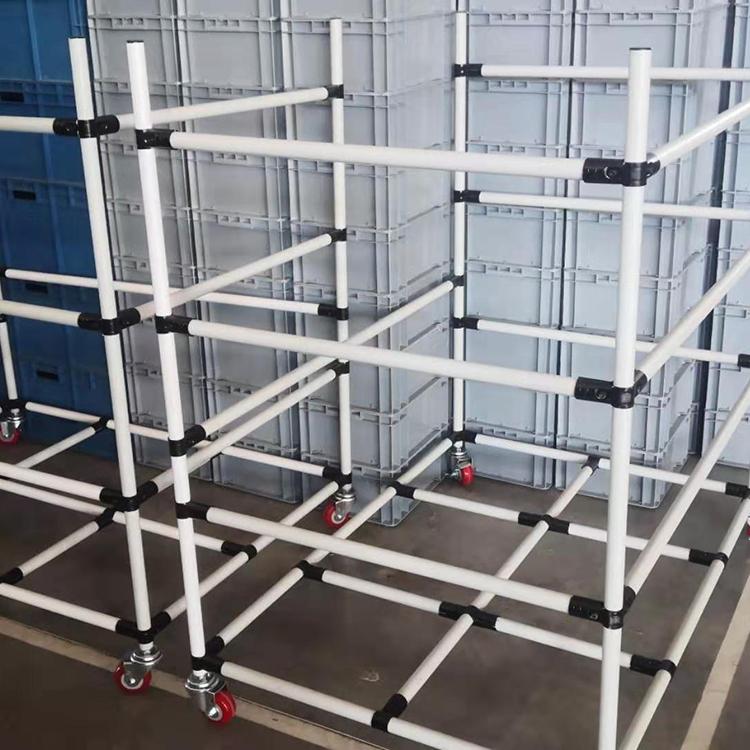 线棒 铝型材 流利条 仓储货架 传送带装置