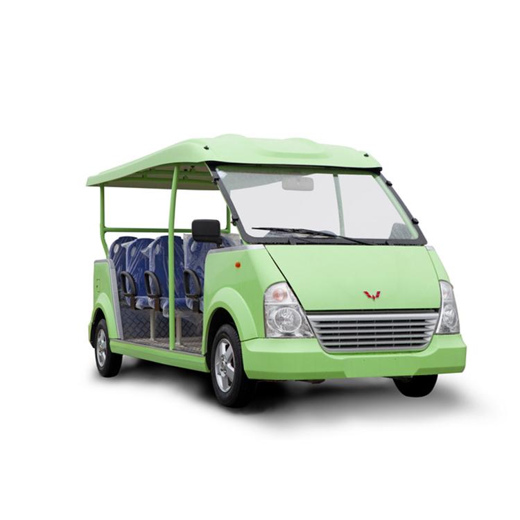 威威观光车 五菱燃油观光车 燃油观光车厂家 敞开式观光车