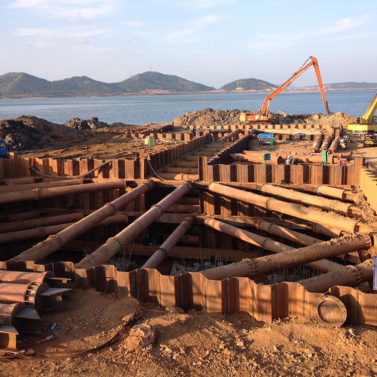 钢板桩出租  现货供应 拉森钢板桩施工  长春钢板桩施工 用途广泛 价格优惠