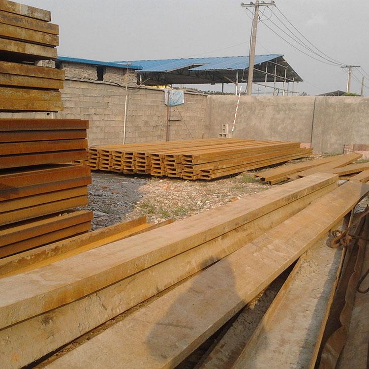 厂家直销 钢板桩 长春钢板桩出租 拉森钢板桩施工 吉林钢板桩 一站式施工