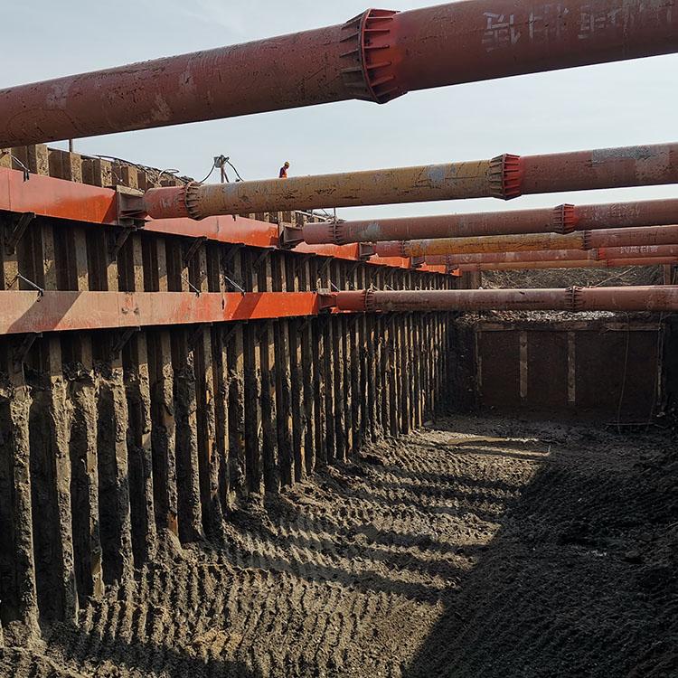 基坑支护 拉森钢板桩施工 钢板桩施工 拉森钢板桩租赁