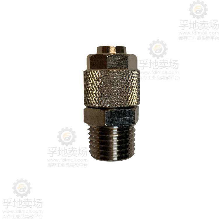 快拧式管接头快拧螺纹直通 IBC10-2