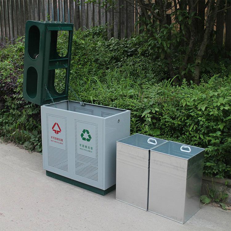 品质保障垃圾箱 环保材质分类垃圾箱 量大从优