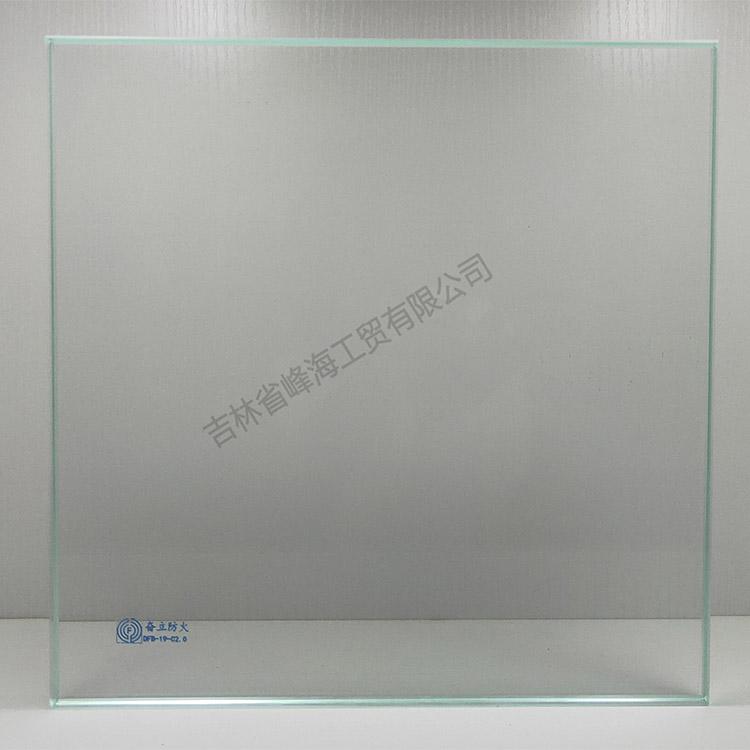 防火玻璃 奋立 DFB-19-C2.0单片非隔热防火玻璃