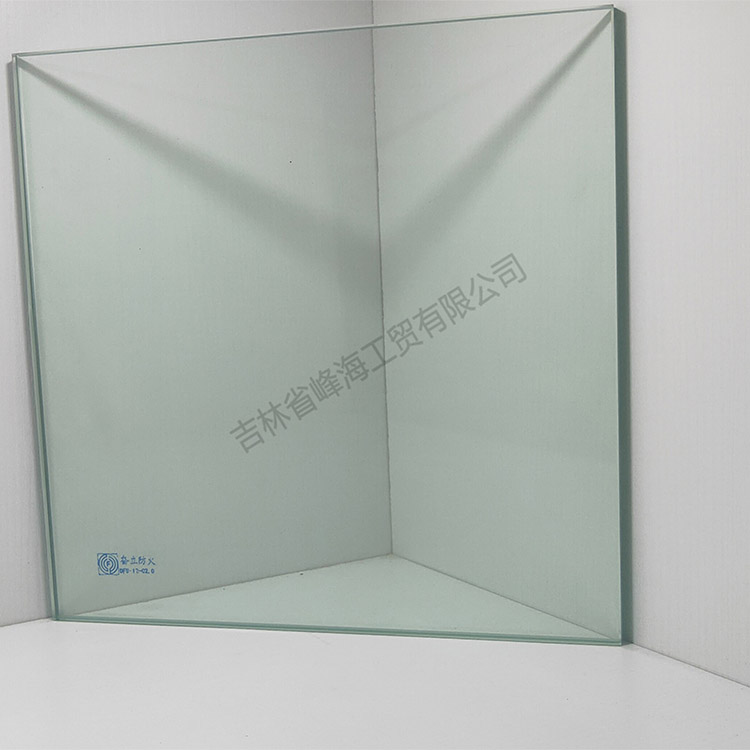 长春防火玻璃 奋立 DFB-12-C2.0单片非隔热防火玻璃