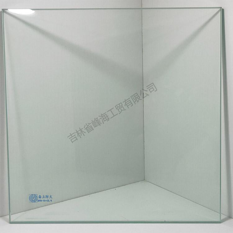 防火玻璃价格 奋立 DFB-10-C2.0单片非隔热防火玻璃