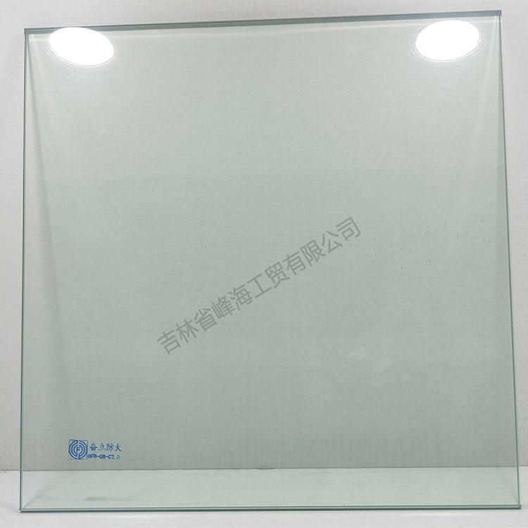 防火玻璃定制 奋立 DFB-08-C2.0单片非隔热防火玻璃