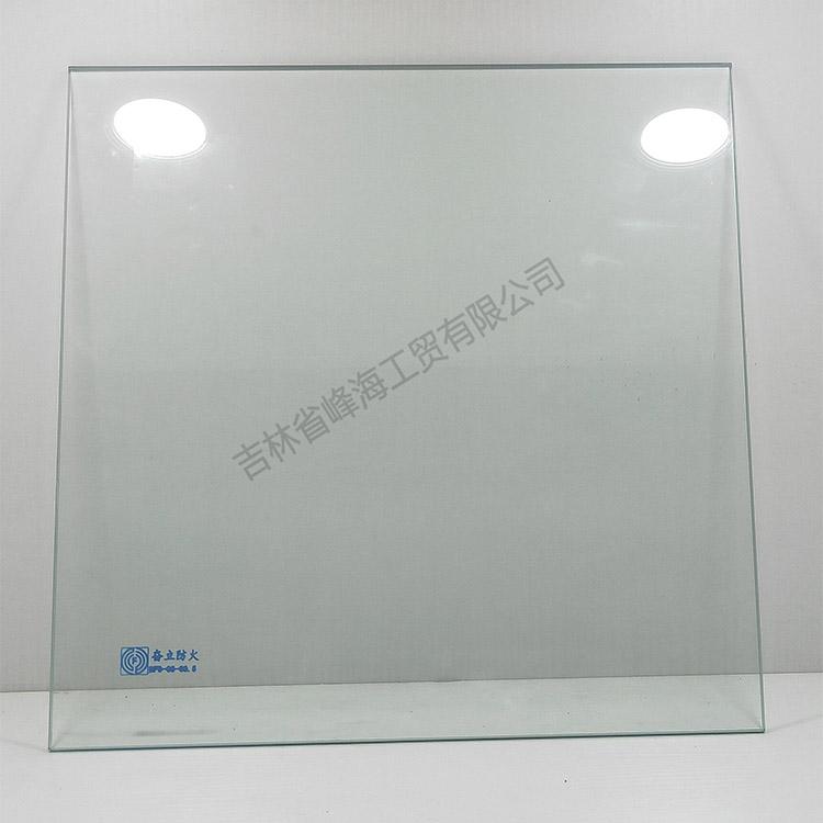 吉林防火玻璃 奋立 DFB-06-C0.5单片非隔热防火玻璃