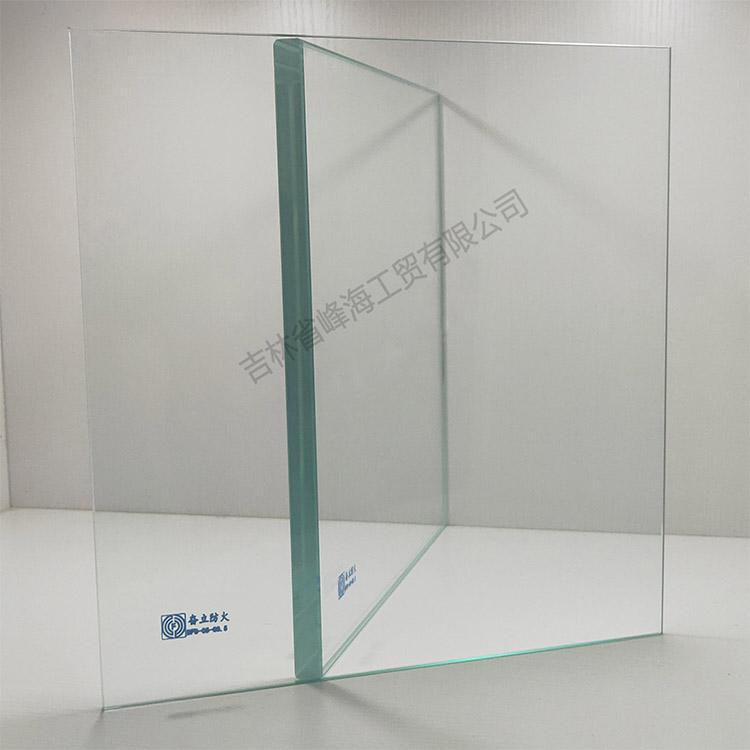 吉林防火玻璃 奋立 DFB-05-C0.5单片非隔热防火玻璃
