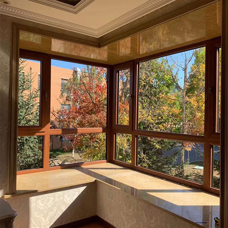 长春铝包木门窗 长春铝包木门窗厂家 铝包木门窗定制