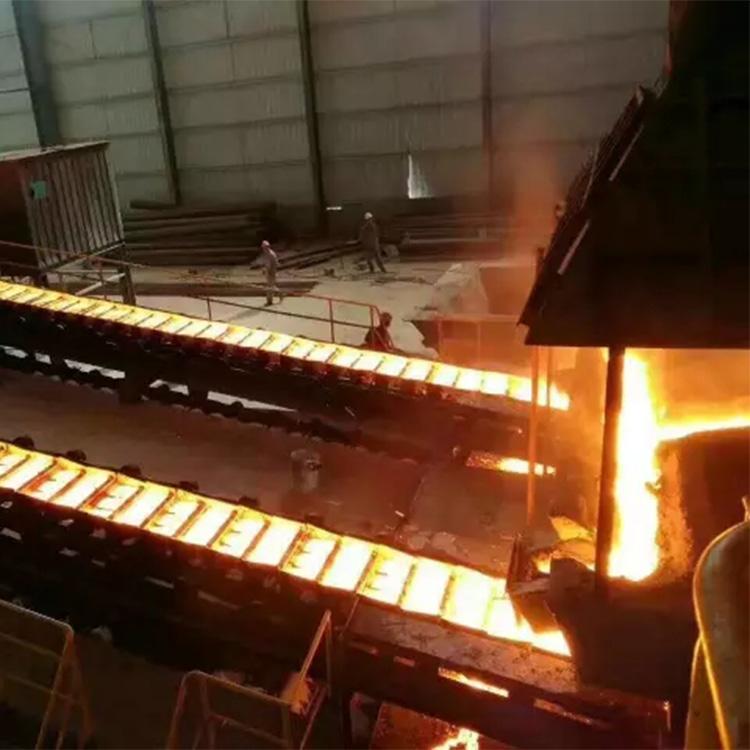 通化厂家炼铁设备 固定式双链滚轮铸铁机  高炉炼铁设备