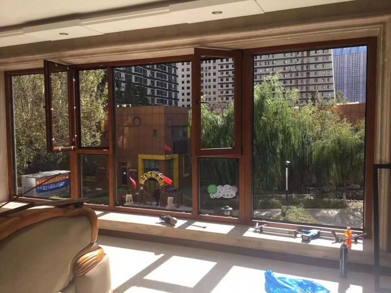 木塑铝门窗木塑铝门窗生态木门窗长春加工厂直销价格优惠